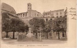 (C).Ivrea(TO).Monumento A Ettore Perrone.F.to Piccolo.Viaggiata (c17) - Italie