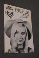 Chanteur,chanteuse,sixties,belle Photo De Nicole Josy ( Wemmel) 14,5 Cm. Sur 10 Cm. - Célébrités
