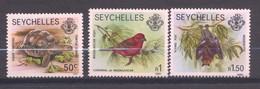 Seychelles, Yvert 739/741&742, 1991, MNH - Seychelles (1976-...)