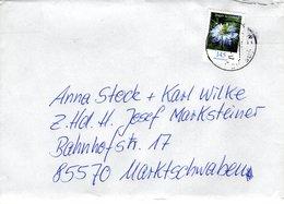 Brief Von 14624 Dallgow - Döberitz Mit 145 Cent Jungfer Im Grünen 2018 - BRD