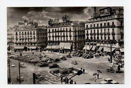 - CPSM MADRID (Espagne) - Puerta Del Sol 1961 - - Madrid