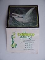 CALENDRIER De Poche 1993 CORDIER FLEURS à VILLEJUIF Fleuriste - Calendarios