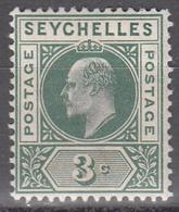 SEYCHELLES     SCOTT NO. 39     MINT HINGED     YEAR  1903 - Seychelles (...-1976)