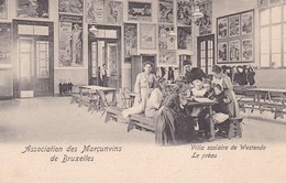 Westende Association Des Marcunvins Villa Scolaire De Westende Le Preau - Westende