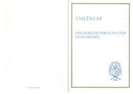 Ungarn FDC Folder Porcelàn Porzellan 1972 Hy17-2 - FDC