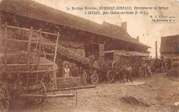 Sevrey Battage Humbert Ronfard Batteuse Agriculture Canton Chalon - France