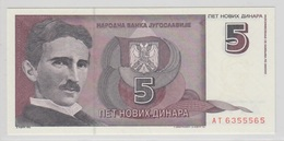 YOUGOSLAVIE 5 Dinara 1994 P148 UNC - Yougoslavie