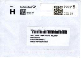Brief Von 33649 Bielefeld Mit 175 Cent Bar Frei 2018 - BRD