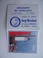 CALENDRIER De Poche 1984 PHARE Jardinerie Sté SOMOJAAV Fleurs & Jardin Serge MARCHAND à AVALLON 89 - Calendari