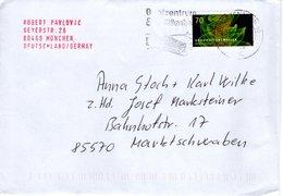 Brief Von Briefzentrum 80 Mit 70 Cent Gravitationswellen Mit Werbestempel München 2018 - BRD