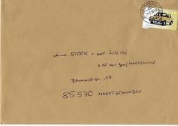 Brief Von 12623 Berlin Mahlsdorf 2 Mit 145 Cent Wartburg 2018 - BRD
