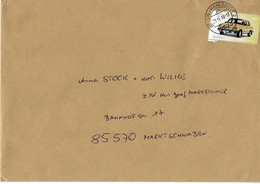 Brief Von 12623 Berlin Mahlsdorf 2 Mit 145 Cent Wartburg 2018 - [7] République Fédérale