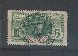 """Timbre Taxe - Gouverneur Général Bellay Surchargé D'un """" T """" Dans Un Triangle,  - N° 1 Valleur 125 € - Used Stamps"""
