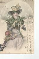 CPA Illustrateur Vienne Signée Wichera N°156 Femme Avec Son Enfant - Wichera