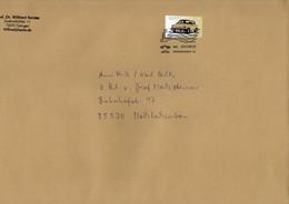 Grossbrief Von Briefzentrum 72 Mit 145 Cent Wartburg 1,3 1988-91 2018 - BRD