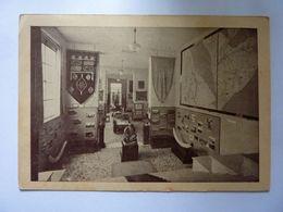 """Cartolina """"SALONE DEI PIONIERI  - MUSEO DELL'AFRICA ITALIANA, ROMA"""" Anni '30 - Musei"""