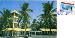REPUBLICA DOMINICANA  PUERTO PLATA  Parque Costero Long Beach  Nice Stamp Aviation - Repubblica Dominicana
