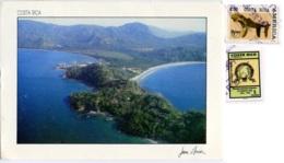 COSTA RICA   GUANACASTE  Playa Flamingo  Nice Stamps - Costa Rica