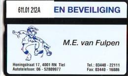 Telefoonkaart  LANDIS&GYR NEDERLAND * RCZ.611.01  212a * Van Fulpen Beveiliging * TK * ONGEBRUIKT * MINT - Nederland