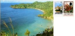 TRINIDAD E TOBAGO  ISLAND OF TOBAGO  Castara Bay  Nice Stamps - Trinidad