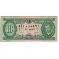 Billet, Hongrie, 10 Forint, 1969, 1969-06-30, KM:168d, TB - Hongrie