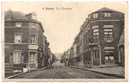 Andenne SCLAYN Chaussée Café Commerce Coin RUE DES COMBATTANTS & RUE DU VIEUX SCLAYN Place / Ed. Mme Leloux 4 - Andenne