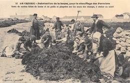 Le Croisic - Fabrication De La Bouse Pour Le Chauffage Des Fermiers - Cecodi N'473 - Le Croisic
