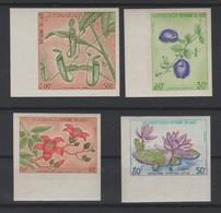 LAOS  1974  NON DENT / IMPERF  FLOWERS / FLEURS  **MNH  Réf  263 - Laos