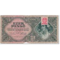 Billet, Hongrie, 1000 Pengö, 1945, 1945-07-15, KM:118b, B - Hongrie