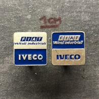 Badge Pin ZN007684 - Truck (Lastkraftwagen / Kamion) IVECO (Industrial Vehicles Corporation) FIAT - Fiat