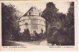GIRONDE - ST-ANDRE De CUBZAC - Château Du Bouil - Le Pigeonnier - Châteaux