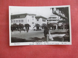 RPPC   Morocco > Casablanca Post Office    Ref 3117 - Casablanca