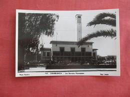 RPPC   Morocco > Casablanca Les Services Municipal  Ref 3117 - Casablanca