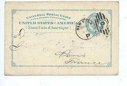 Entier Postal ETATS-UNIS USA US Postal Stationery 23 Mai 1898 - Postal Stationery