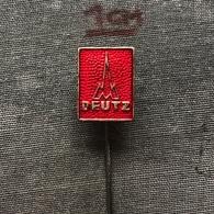 Badge Pin ZN007701 - Automobile / Car / Tractor / Truck (Lastkraftwagen) / Construction Deutz - Badges