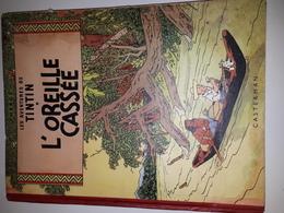 TINTIN ET L'OREILLE CASSEE -B09-1954-ETAT MOYEN - Tintin