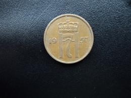 NORVÈGE : 2 ORE  1957   KM 399     TTB - Norvège