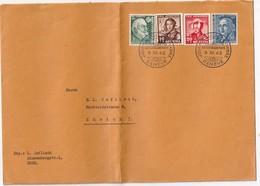 SUISSE  1942 LETTRE  DE GENEVE  JOURNEE DU TIMBRE - Lettres & Documents