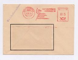 Firmen Umschlag AFS - SCHÖNHEIDE, Kurt Ungethüm KG, Besen Bürsten ...1970 - DDR