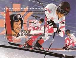 1984 Central African Republic Sarajevo Olympics Souvenir Sheet MNH - Centraal-Afrikaanse Republiek