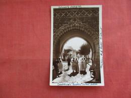 Morocco > Casablanca  RPPC Entrance To Walled City     Ref 3117 - Casablanca