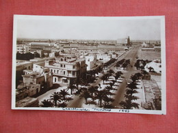 Morocco > Casablanca  RPPC  Blvd. Zouaves      Ref 3117 - Casablanca