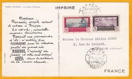 1951 - CP De Larache Vers Montrouge, France - Dear Doctor Plasmarine Marinol Ionyl - Conteur - Spanisch-Marokko