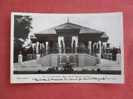 Morocco > Casablanca  RPPC   The Sultans Imperial Tea House    Ref 3117 - Casablanca