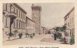 Marche Macerata Porto Recanati Il Corso Vittorio Emanuele --- Bella - Italia