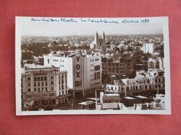 Morocco > Casablanca  RPPC  Our Red Cross Theater      Ref 3117 - Casablanca