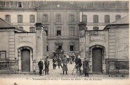 9807. CPA 78 VERSAILLES. CASERNE DU GENIE. RUE DE NOAILLES 1909 - Versailles