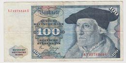 ALLEMAGNE 100 Mark 1980 P34d VF- - 100 Deutsche Mark