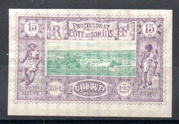 SOMALIS - YT N° 11 - Neuf * - MH - Cote: 25,00 € - Costa Francesa De Somalia (1894-1967)