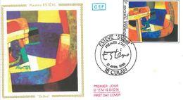 FDC Maurice Estève Skibet (18 Culan 12/04/1986) - FDC